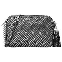 Buy MICHAEL Michael Kors Ginny Leather Cross Body Camera Bag Online at johnlewis.com