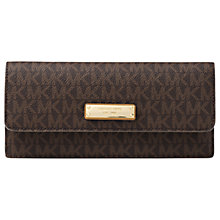 Buy MICHAEL Michael Kors Money Pieces Leather Flat Purse Online at johnlewis.com