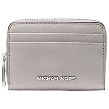 Buy MICHAEL Michael Kors Money Pieces Leather Card Purse Online at johnlewis.com