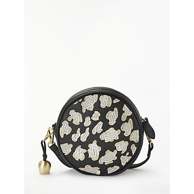 bell&fox Embroidered Mia Mini Canteen Bag, Black/Multi
