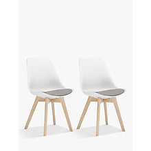 Buy John Lewis Dima Dining Chairs, Set of 2 Online at johnlewis.com