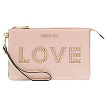 Buy MICHAEL Michael Kors Leather 'Love' Medium Pouch Purse Online at johnlewis.com
