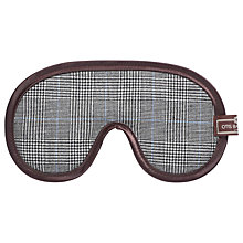 Buy Otis Batterbee Prince of Wales Check Eye Mask, Grey Online at johnlewis.com