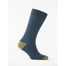 Buy Ted Baker Nicrof Ribbed Contrast Socks, One Size Online at johnlewis.com