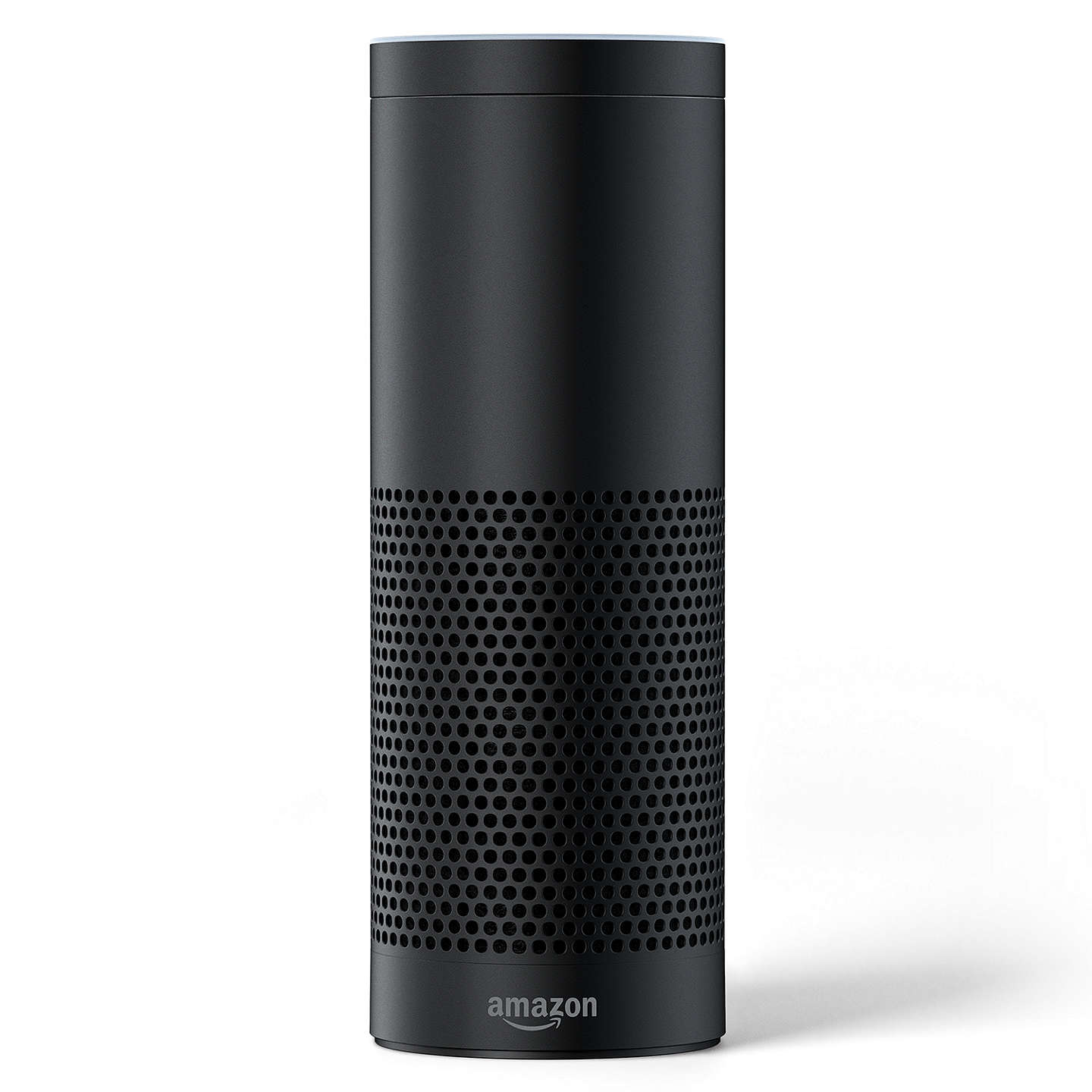 BuyAmazon Echo Plus Smart Speaker with Built-in Smart Home Hub with Alexa Voice Recognition & Control, Black Online at johnlewis.com