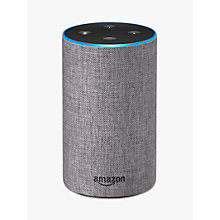 Buy Amazon Echo Smart Speaker with Alexa Voice Recognition & Control, 2nd Generation Online at johnlewis.com