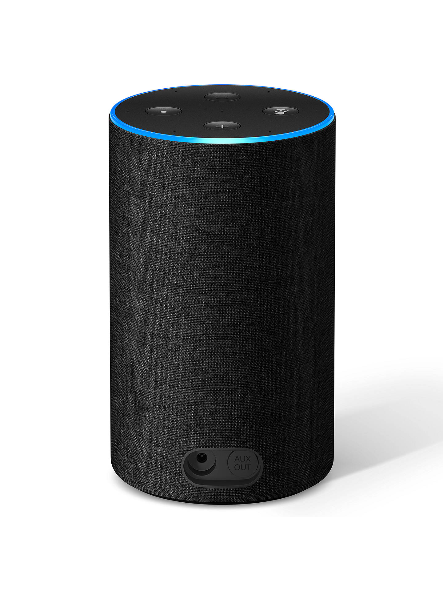 BuyAmazon Echo Smart Speaker with Alexa Voice Recognition & Control, 2nd Generation, Black Online at johnlewis.com