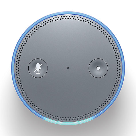 Buy Amazon Echo Plus Smart Speaker with Built-in Smart Home Hub with Alexa Voice Recognition & Control Online at johnlewis.com