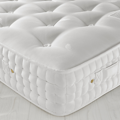 John Lewis Natural Collection Wensleydale Wool 12000 Luxury Support, Double, Firm Tension Pocket Spring Mattress