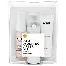 Buy OUAI Morning After Haircare Kit Online at johnlewis.com
