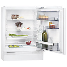 Buy AEG SKB58211AF Integrated Undercounter Fridge, A+ Energy Rating, 60cm Wide, White Online at johnlewis.com