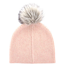 Buy Mint Velvet Fluffy Yarn Pom Pom Hat Online at johnlewis.com