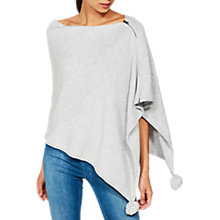 Buy Mint Velvet Pom Pom Poncho Online at johnlewis.com