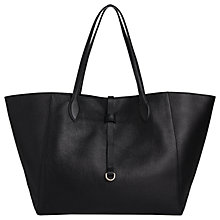 Buy Whistles Shaftesbury Soft Leather Tote Bag Online at johnlewis.com