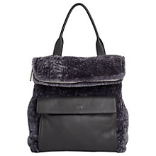 Buy Whistles Verity Shearling Leather Backpack Online at johnlewis.com