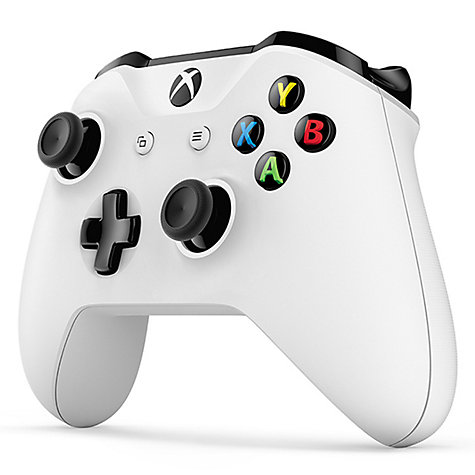 Buy Microsoft Xbox One S Console, 500GB, with Wireless Controller and Assassin's Creed: Origins Online at johnlewis.com