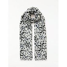 Buy John Lewis Scattered Butterfly Print Scarf, Black Mix Online at johnlewis.com