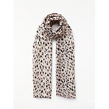 Buy John Lewis Pretty Animal Print Scarf, Multi Online at johnlewis.com