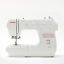 Buy Janome 2300XT Sewing Machine, White Online at johnlewis.com