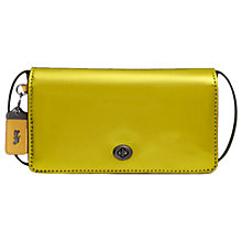 Buy Coach 1941 Dinky Leather Cross Body Bag Online at johnlewis.com