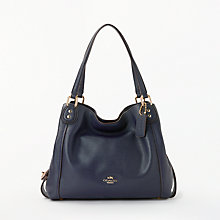Buy Coach Edie 28 Leather Shoulder Bag Online at johnlewis.com