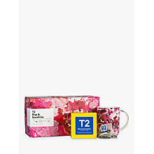 Buy T2 Rise & Sunshine Tea and Mug Set, 62.5g Online at johnlewis.com