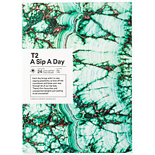Buy T2 Sip a Day Advent Gift Set, 50g Online at johnlewis.com