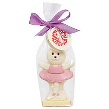 Buy Chocolate Alchemist Bunny Ballerina, 80g Online at johnlewis.com