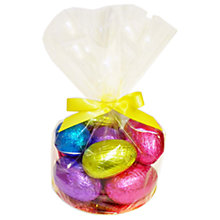 Buy Giant Hollow Easter Eggs in Cellophane Bag, 680g Online at johnlewis.com