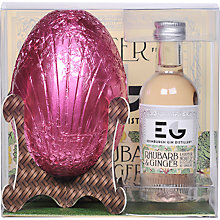 Buy Edinburgh Gin Easter Egg and Rhubarb & Ginger Liqueur Online at johnlewis.com
