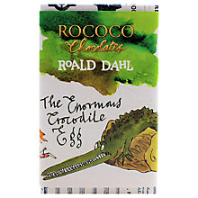 Buy Rococo Chocolates Roald Dahl Enormous Croc Egg, 150g Online at johnlewis.com