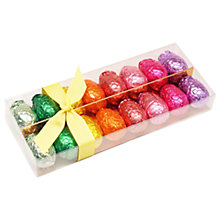 Buy Rainbow Foiled Chocolate Egg Selection, 200g Online at johnlewis.com