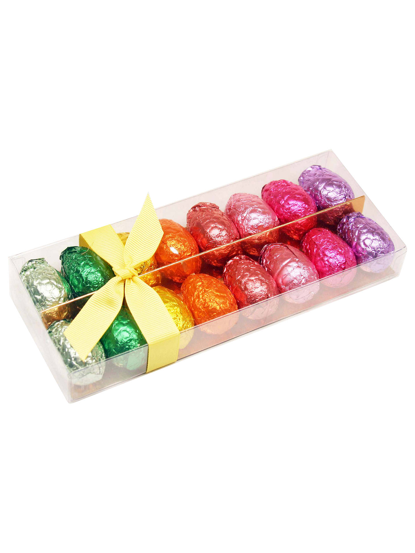 BuyRainbow Foiled Chocolate Egg Selection, 200g Online at johnlewis.com