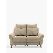 Buy G Plan Hirst Power Recliner Small 2 Seater Sofa, Reed Taupe Online at johnlewis.com