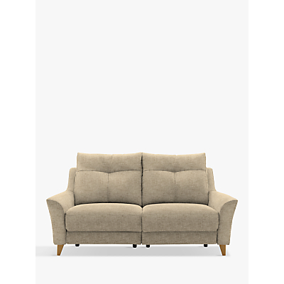 G Plan Hirst Power Recliner Large 3 Seater Sofa, Reed Taupe