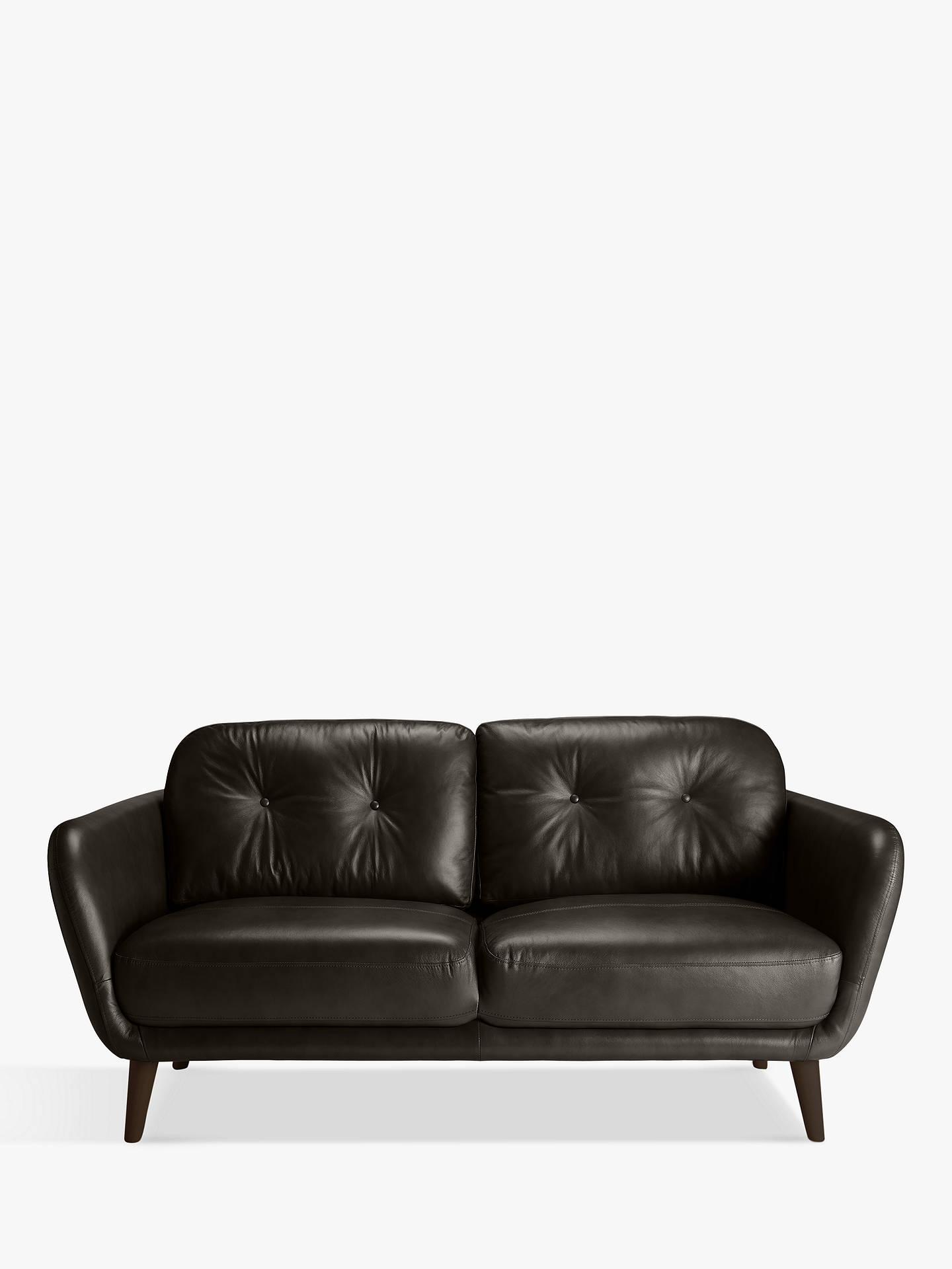 Outstanding House By John Lewis Arlo Medium 2 Seater Leather Sofa Milan Taupe Creativecarmelina Interior Chair Design Creativecarmelinacom