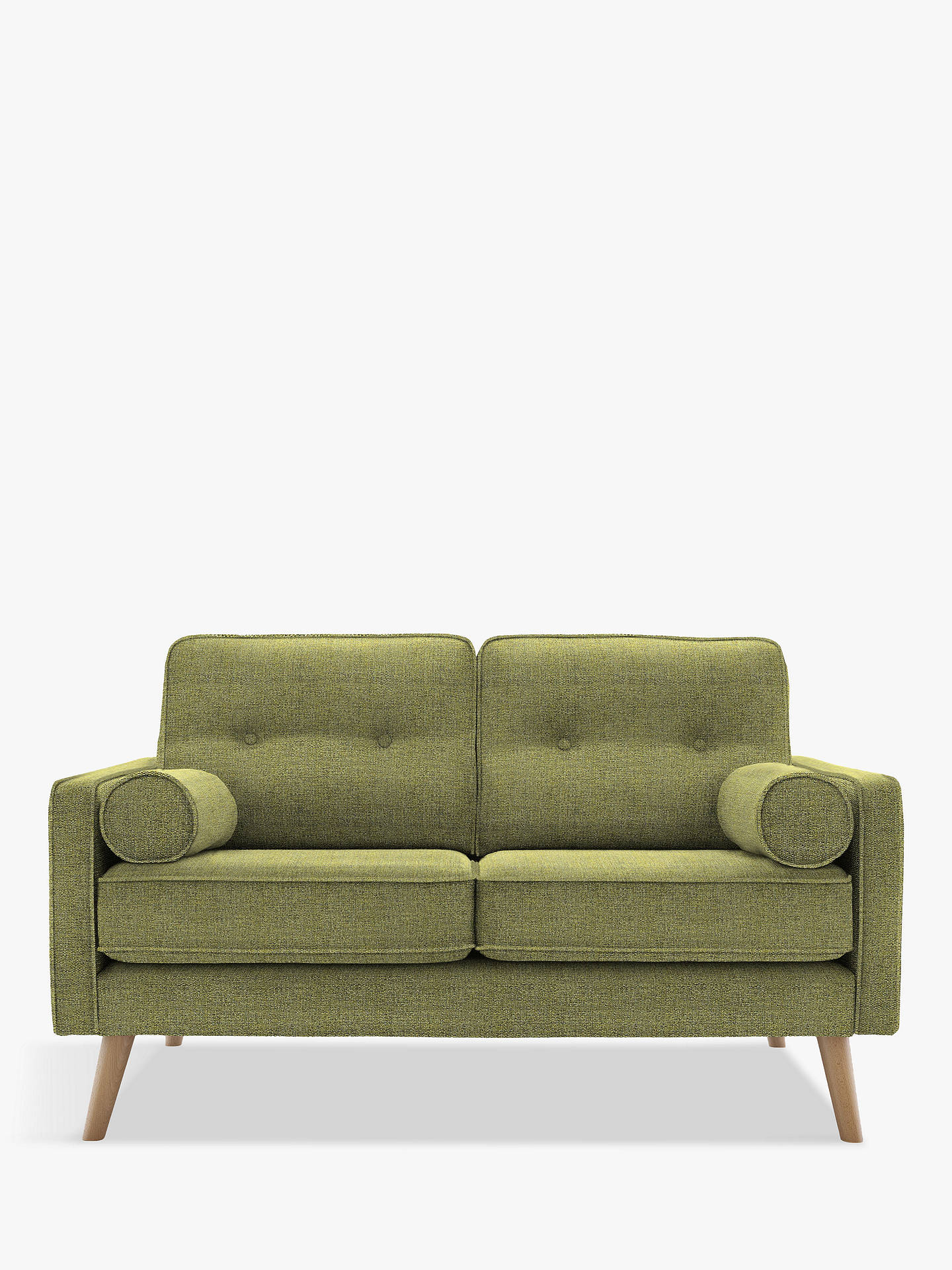 G Plan Vintage The Sixty Five Small 2 Seater Sofa Ash Leg