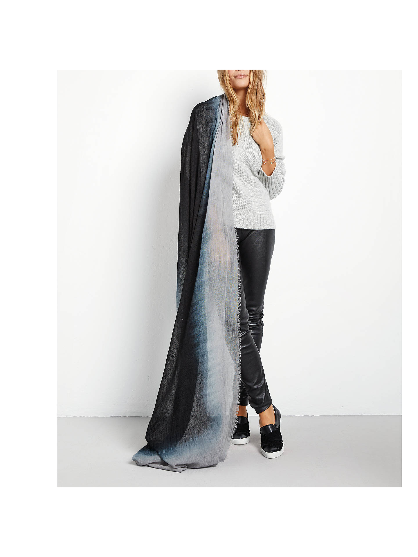 Buyhush Pia Abstract Scarf, Ombre Online at johnlewis.com