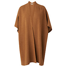 Buy L.K. Bennett Cecily Wool Poncho, Camel Online at johnlewis.com
