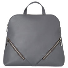 Buy Whistles Salisbury Zip Around Leather Backpack Online at johnlewis.com