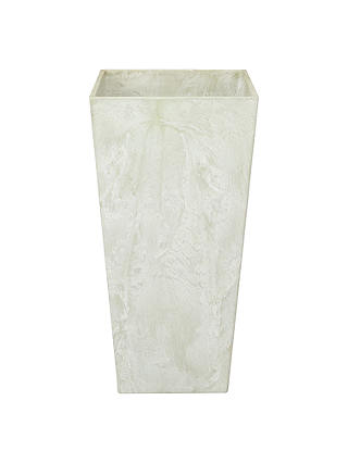 Buy Artstone Ella Planter, H49 x W26 x D26cm, Sage Online at johnlewis.com