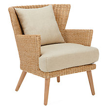 Buy Croft Collection Iona Outdoor Dining Armchair FSC-Certified (Eucalyptus Wood), Natural Online at johnlewis.com
