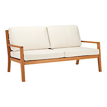 Buy John Lewis Alta 2 Seater Outdoor Sofa FSC-Certified (Eucalyptus Wood), Natural Online at johnlewis.com