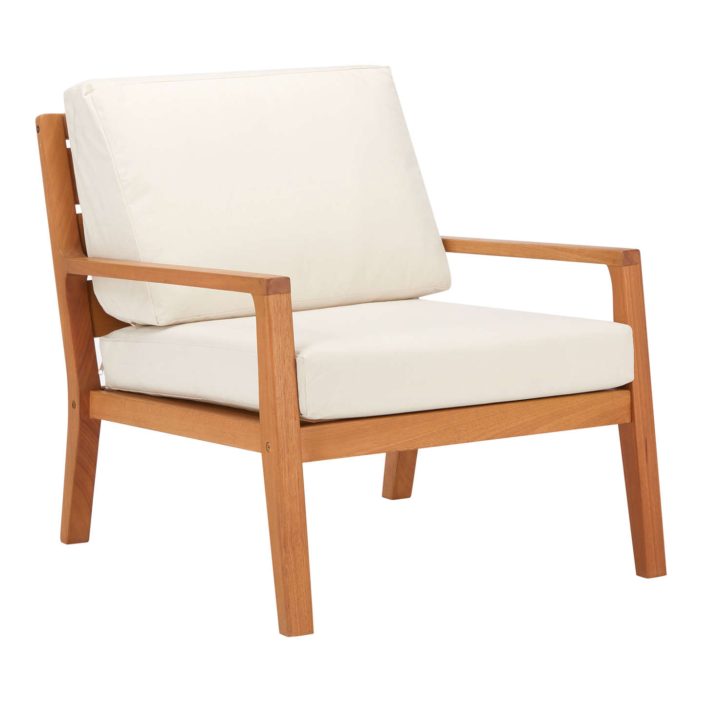 BuyJohn Lewis Alta Outdoor Armchair FSC Certified (Eucalyptus Wood),  Natural Online At ...