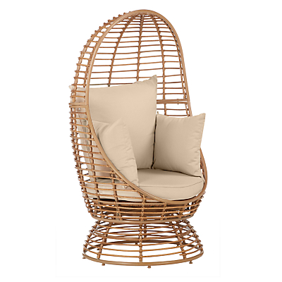 John Lewis Dakara (Fusion) Cabana Swivel Pod Outdoor Chair