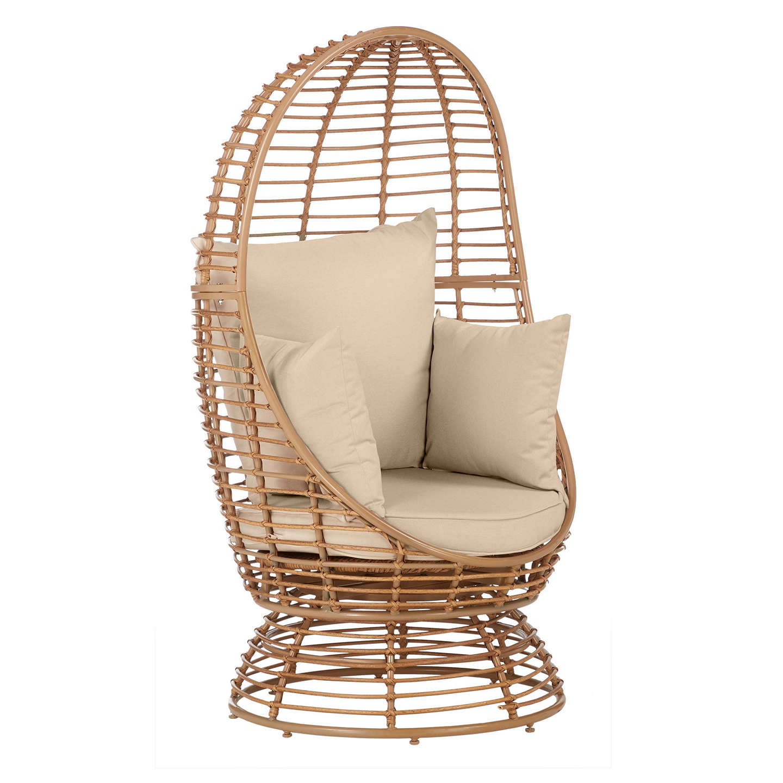 Ordinaire BuyJohn Lewis Cabana Swivel Pod Garden Chair, Natural Online At  Johnlewis.com ...