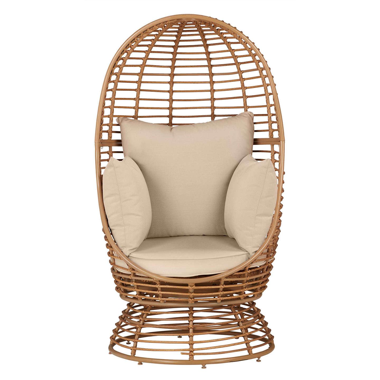 John Lewis Cabana Swivel Pod Garden Chair At John Lewis