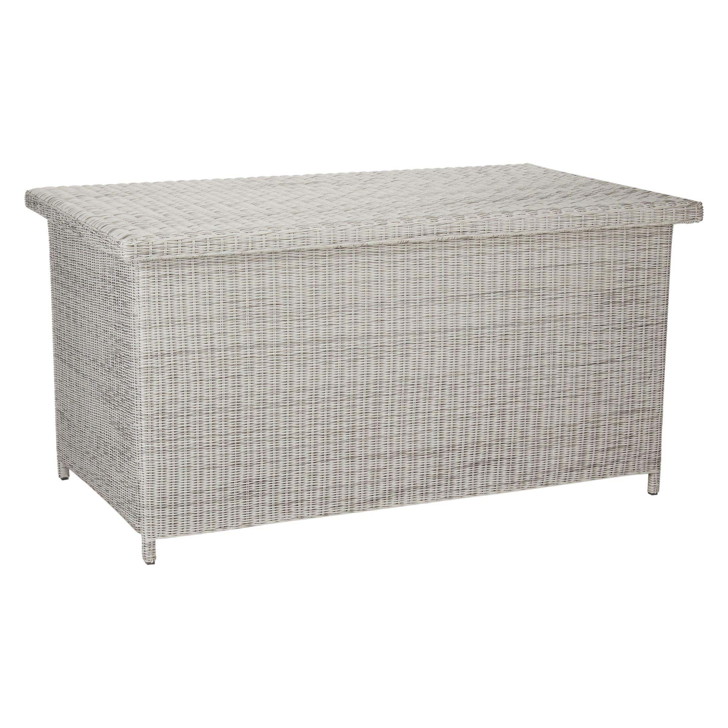 John Lewis Partners Dante Outdoor Cushion And Storage Box At John
