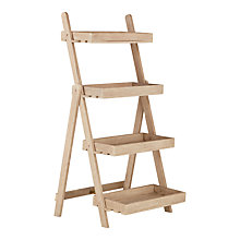 Buy John Lewis Eden 4-Step Outdoor Plant Ladder, FSC-Certified (Eucalyptus), Natural Online at johnlewis.com