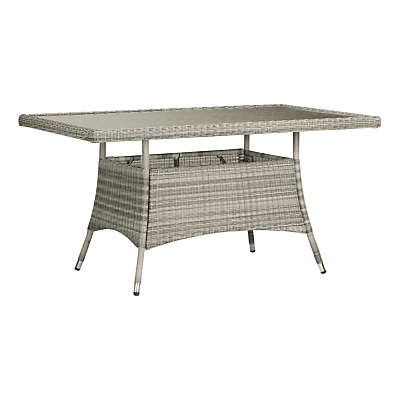 John Lewis Dante 6 Seater Rectangular Outdoor Dining Table